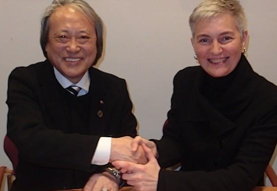 2014 Kyoto and Barcelona Art Exchange Agreement