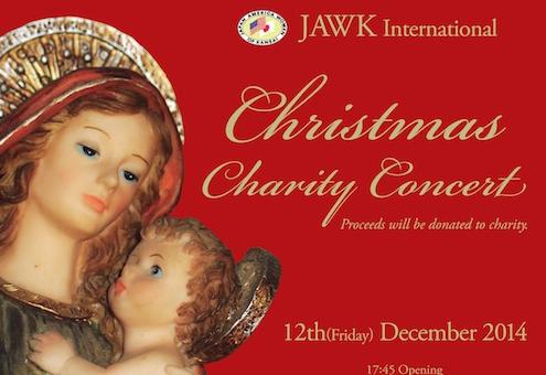 JAWK International Charity Christmas Concert Flyer