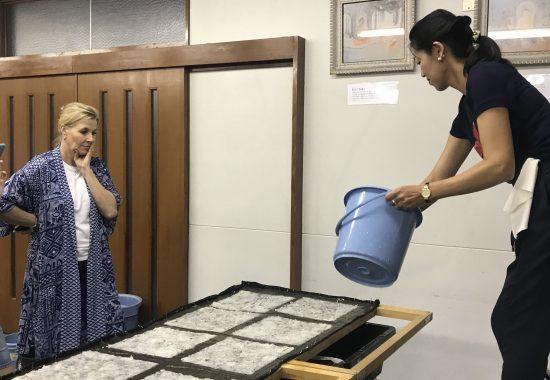 Washi Workshop by Megumi Nishihara