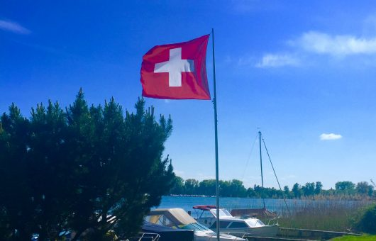 Conference about Switzerland by Jacqueline T. Okuma