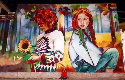 April 2022  STREET ART  by  Spanish artist Lily BRIK